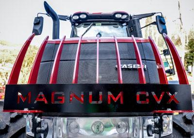 Case Magnum Forstaufbau Umbau bei Kneidinger 1880 Traktor
